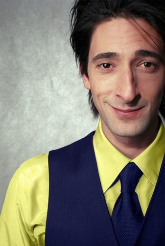 Adrien Brody, a short, young, long-haired version